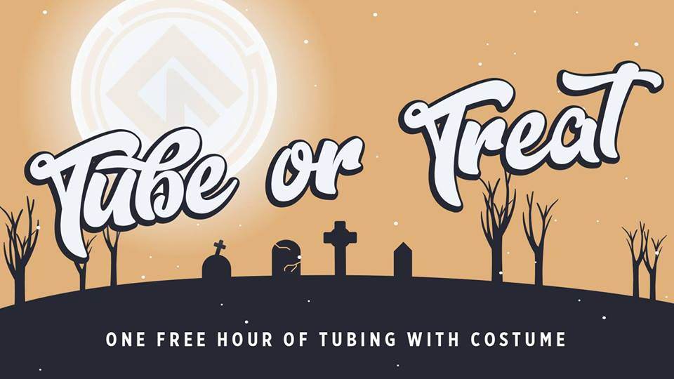 Tube or Treat @ Liberty Mountain Snowflex - Date: Tues Oct 31Time: 3pm - 9pmAddress: 4000 Candlers Mountain Rd. Lynchburg, VA 24502