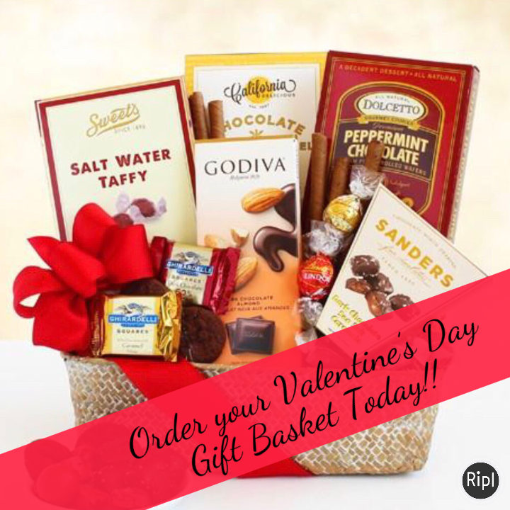Winey Chicks Boutique - Order your Valentine's Day Gift Basket today and send a special basket to someone!