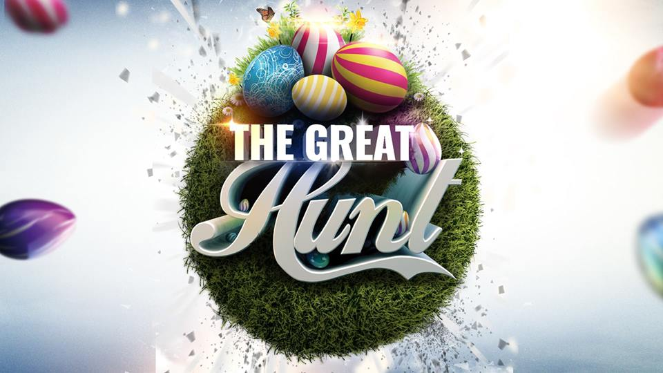 2018 Great Hunt @ River Church  March 31st at 1pm-3pm  115 Seminole Dr. Madison Heights, VA 24572  100,000 egg hunt presented by River Church. The Great Hunt will be held at the Madison Heights Youth Baseball Complex located behind Monelison Middle School. Pre-register for the event.