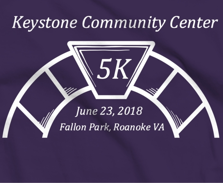 Keystone Community Center 5k - June 23rd | 8am-11amFallon Park: 502 19th Street SERoanoke, VA  24013A 5K race along with a 1 mile fun walk on the Tinker Creek Greenway in Roanoke City. Start at Fallon Park, follow the Greenway to your distance marker. The 5K is the only thing awards are given for.