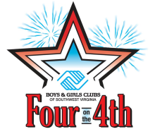 HomeTown Bank Four on the 4th 4-Miler - July 4th | 8am-9:30am Wells Fargo Tower: 10 S Jefferson St,. Roanoke, VA 24011The HomeTown Bank's Four on the 4th presented by Fleet Feet Sports Roanoke is a 4-Mile Run and Walk in Roanoke and benefits the Boys & Girls Clubs of Southwest Virginia!