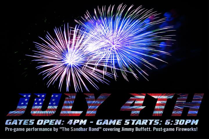 hillcats fourth of july