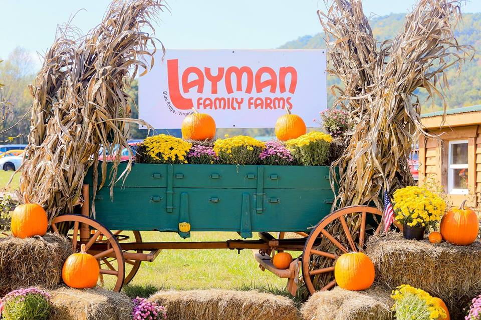 Layman Family Farms - 1815 Mountain View Church Rd.Blue Ridge, VA 24064
