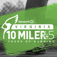 Virginia 10 Miler - Friday & Saturday, September 28 & 29Lynchburg, VA