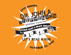 Dr. John A. Stephenson Memorial Youth Run - Saturday, October 20Riverside Park