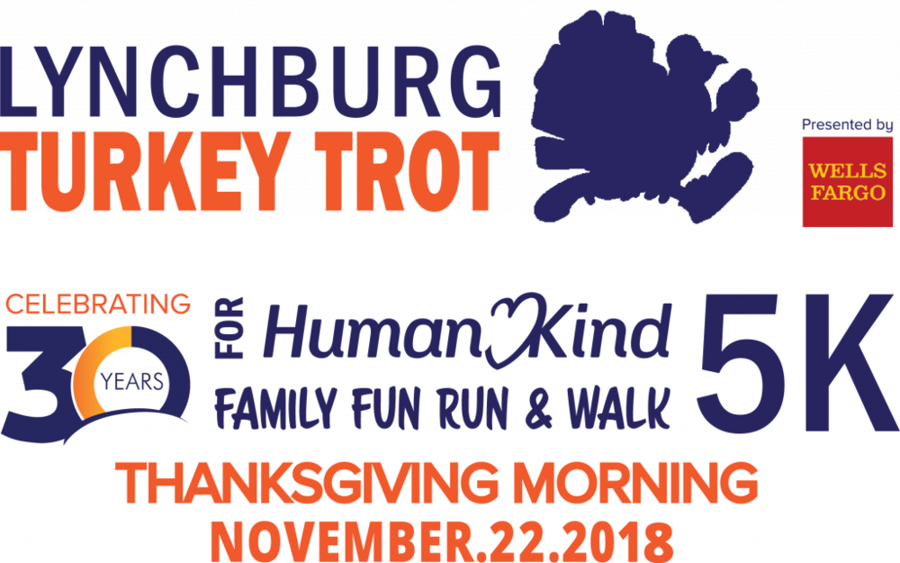 HumanKind Lynchburg Turkey Trot - Thursday, November 22Lynchburg, VA
