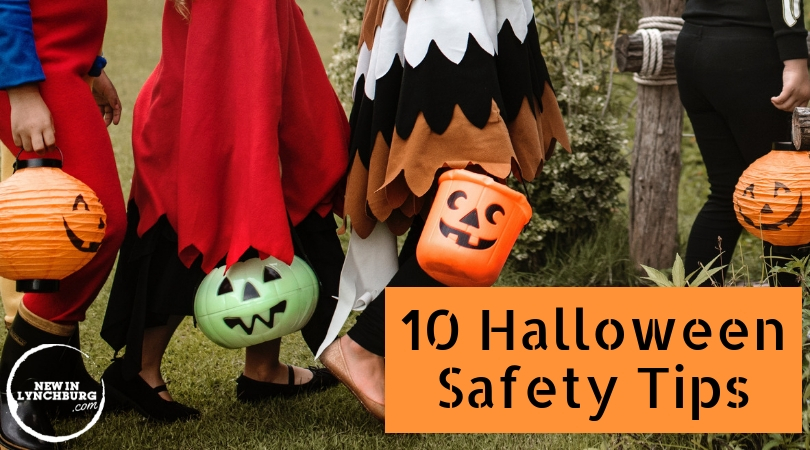 10 Halloween Safety Tips - For many, Halloween is a time when we get put on best costumes and head out in the neighborhood for some candy. As you go this year, please consider these 10 Halloween safety tips!