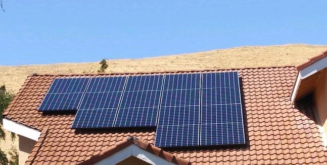 Vacaville Sunpower Solar Install Cecilia