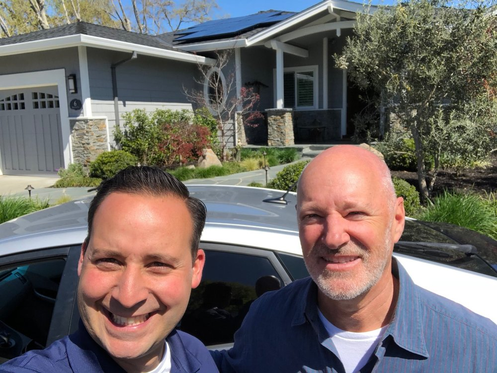 I'm so glad I found Ambrose Solar! Researching which direction to go with Solar became an overwhelming task and my head was spinning. There are so many options and I felt like I was comparing apples to oranges. After reading the reviews of Ambrose, I contacted some of the reviewers and found that their experiences were authentic and consistently positive. From start to finish the Ambrose team was great. Every encounter was organized,  friendly and professional. As a Financial Advisor by trade, numbers are very important to me. Ian took his time in the very beginning to make sure everything was very clear so I could be sure that I was going to get the best value for our specific needs. Our new system looks sleek and works like a charm. I just love watching that meter go backwards!!!  We had completed a whole house remodel last year (top to bottom!) and thought we had made the home very energy efficient but still, the SunPower system is making a big difference in our PG&E bills. I am a happy customer. Thanks again Ambrose team, you guys are awesome!
