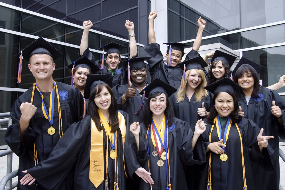 graduates at Citrus College