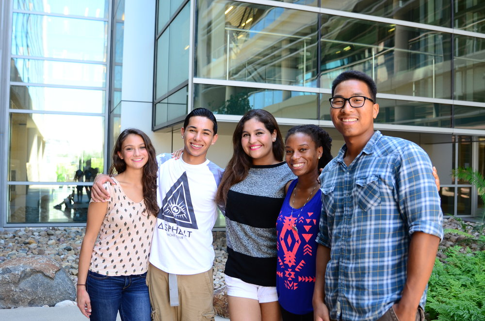 students at San Diego Mesa College