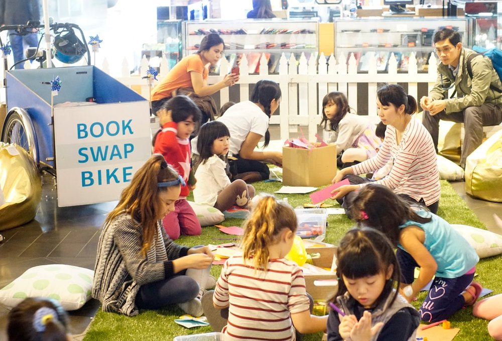 Book Swap Bike    June 2015 - June 2018