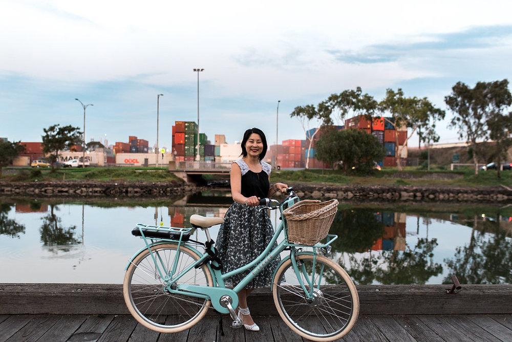Pushy Women Bike Rides March 2017