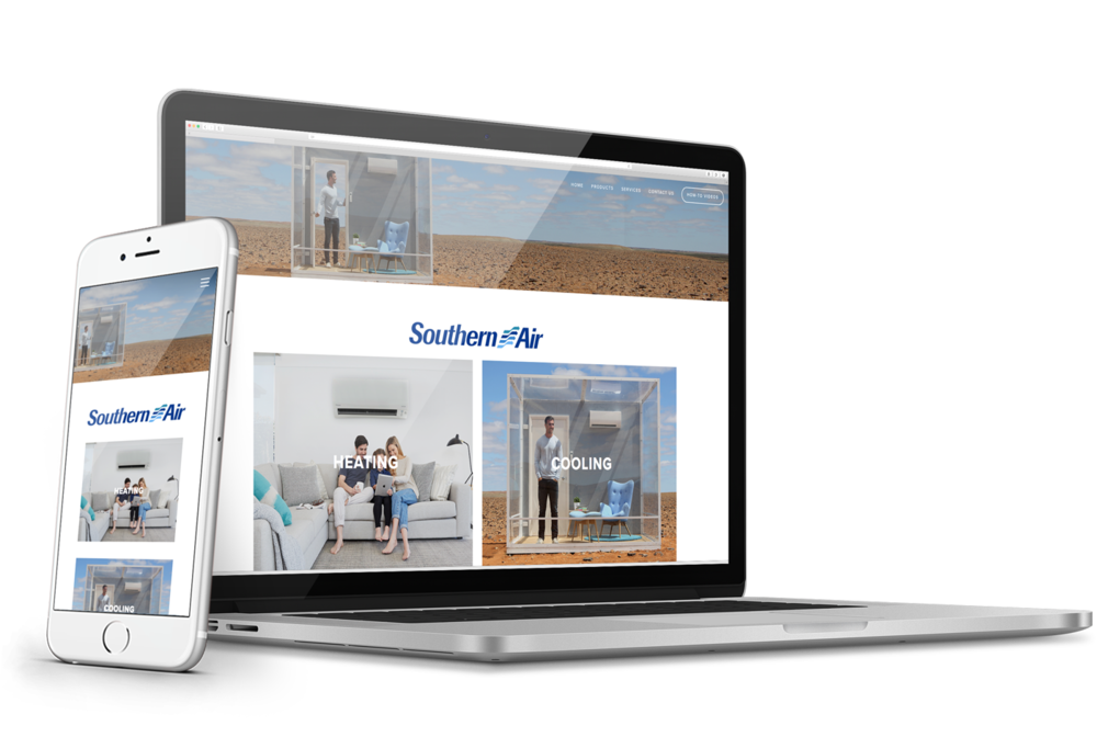 Southern Air - Start-up website