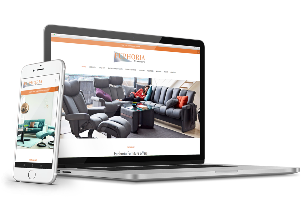 Euphoria Furniture - Small business website