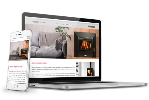 Complete Heating - Start-up website