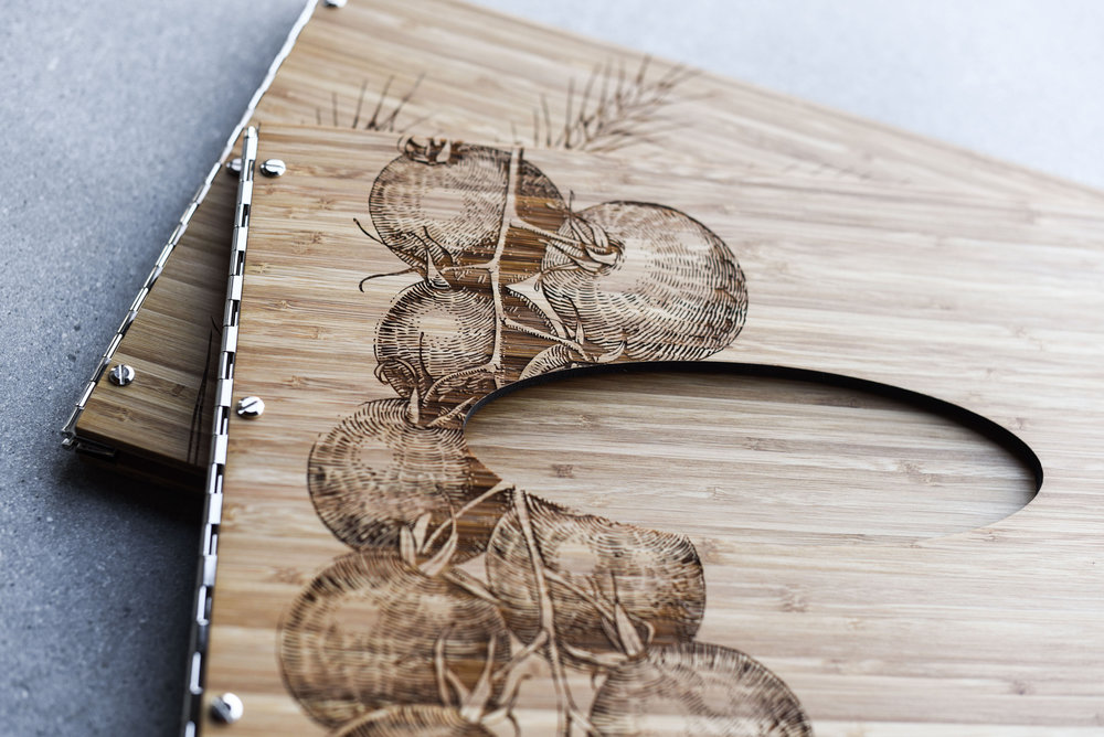 custom wood engraving and cutting in vancouver