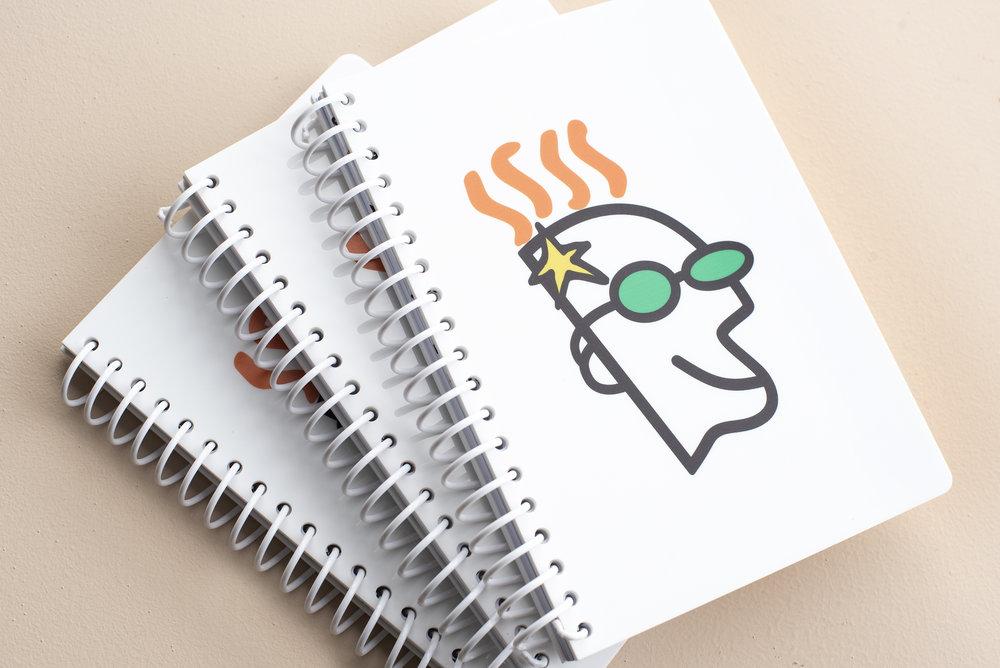 Custom acrylic coil bound notebooks by Klo Portfolios.jpg