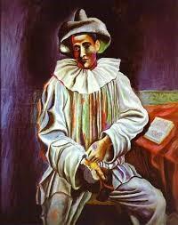 Pierrot,  1918, Pablo Picasso (1881-1973)