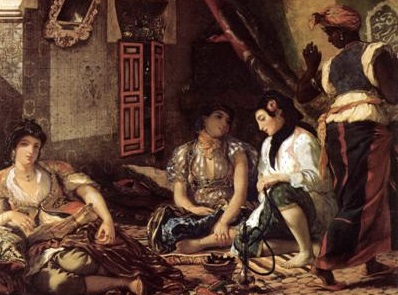 """Eugène Delacroix, """"Femmes d'Alger"""" (1834)"""