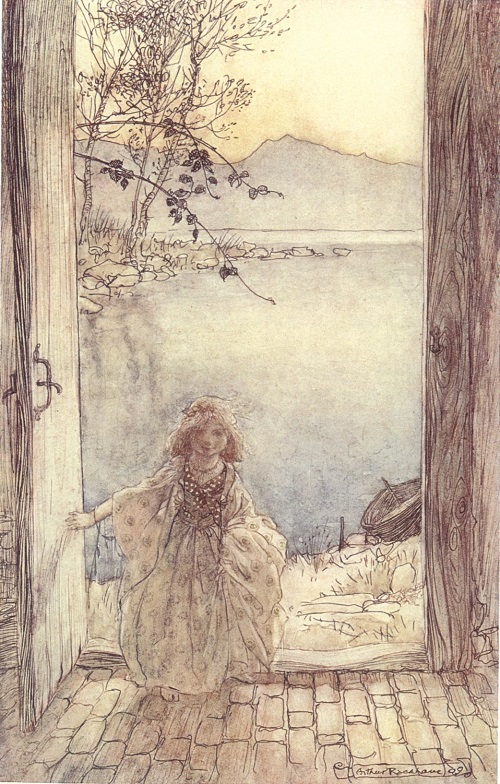 Arthur Rackham (1867-1939),  Ondine  (1909)