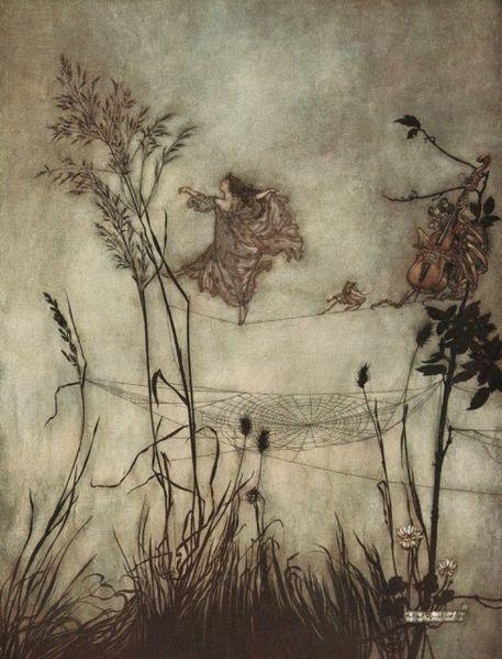 Arthur Rackham,  Les Fées sont d'exquises danseuses