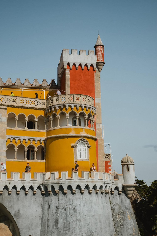 Palácio  da  Pena in Sintra.