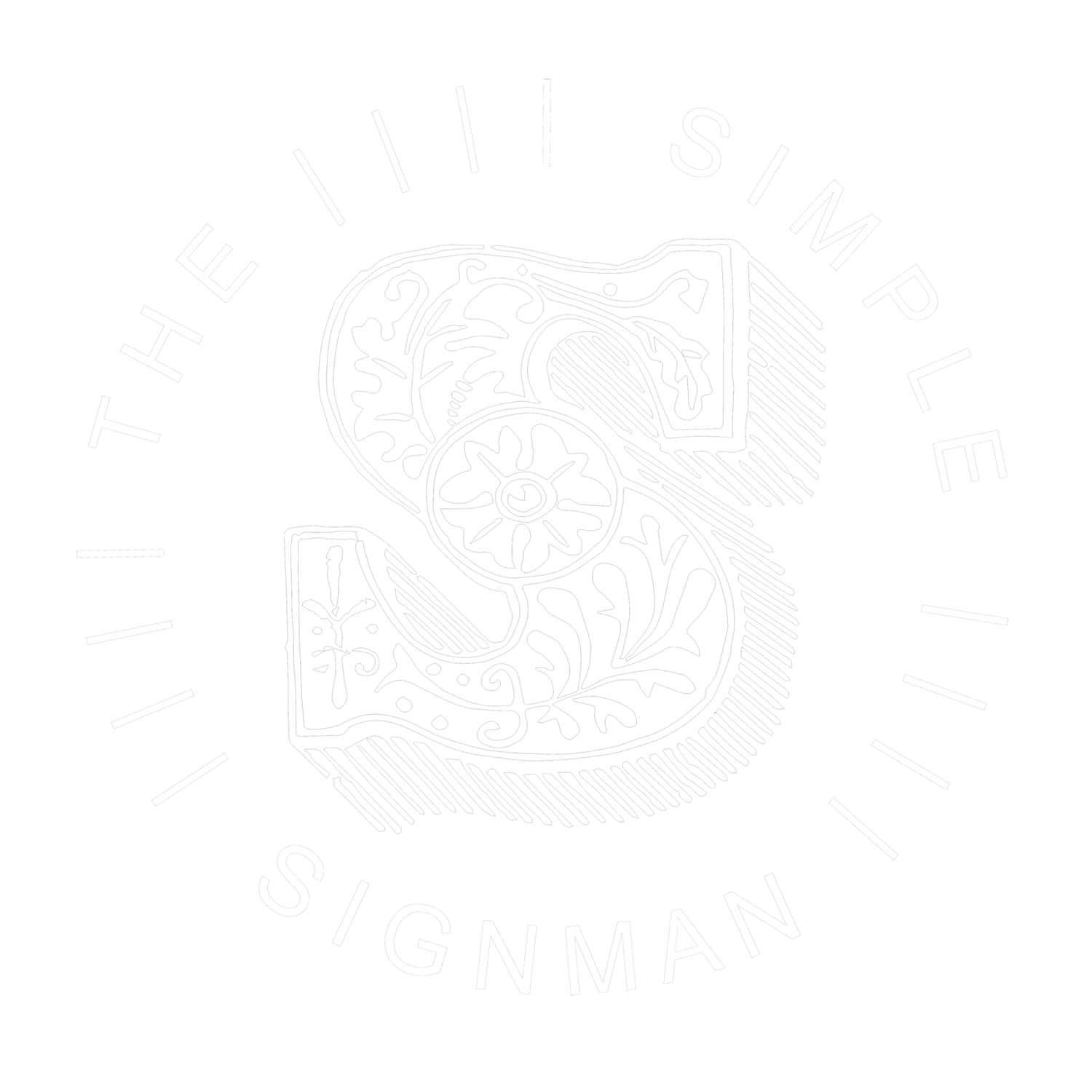 THE SIMPLE SIGNMAN