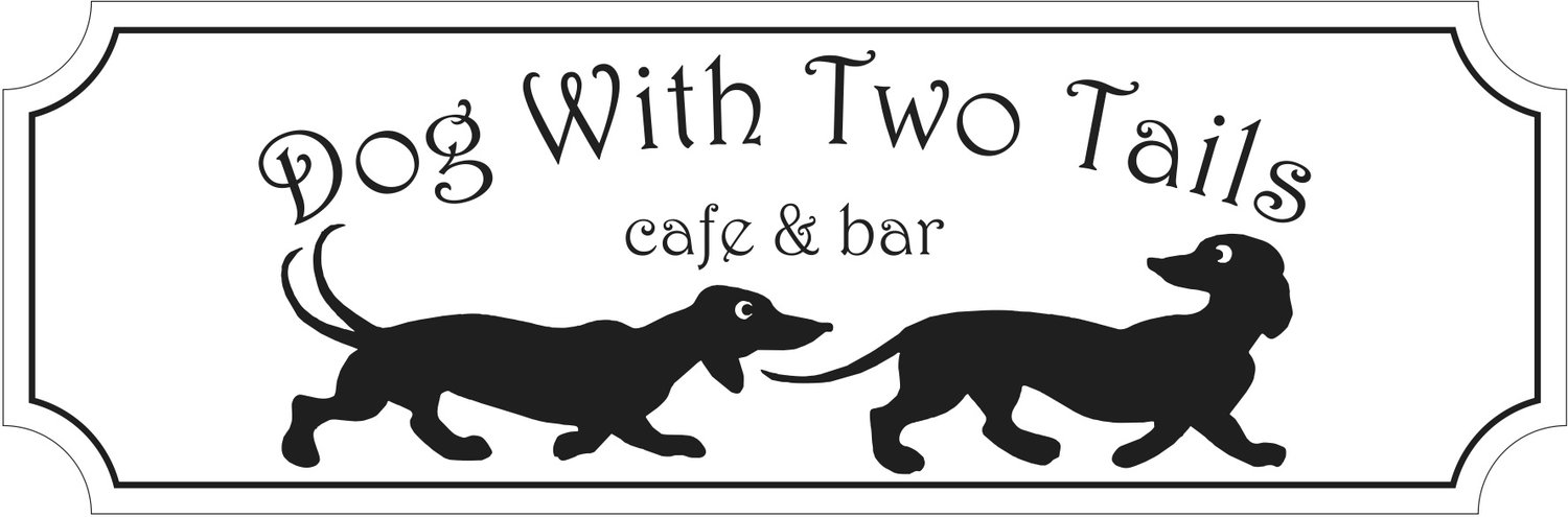 Image result for dog with two tails logo