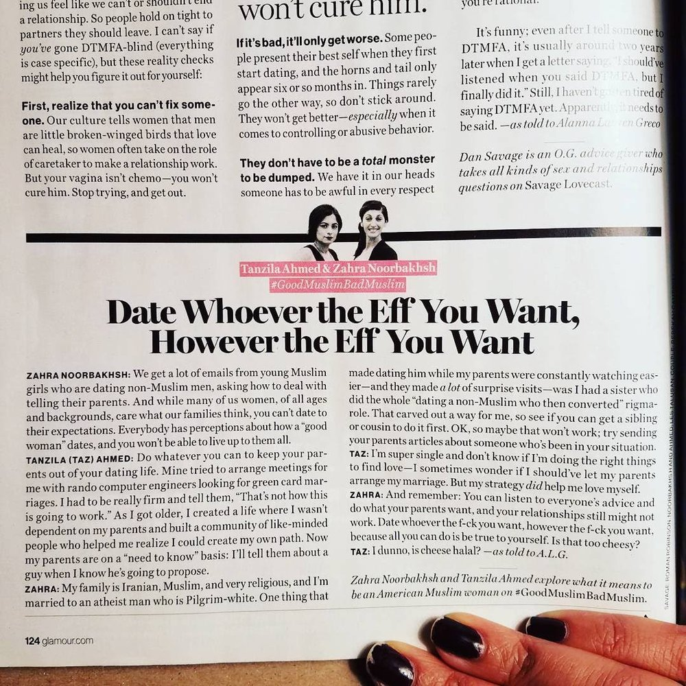 Date Whoever the Eff You Want, However the Eff You Want | Glamour   (Nov 2017)