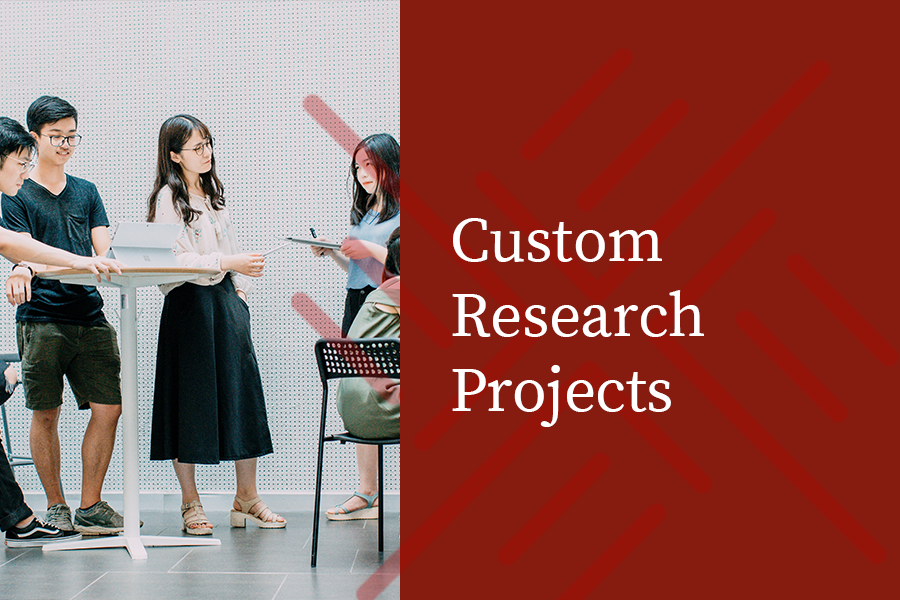 New Subhead TK - Beyond our core products, Omnitrak designs custom approaches to your specific research need, including Online, Offline, In-person Intercepts, Focus Groups, Mixed Methodologies