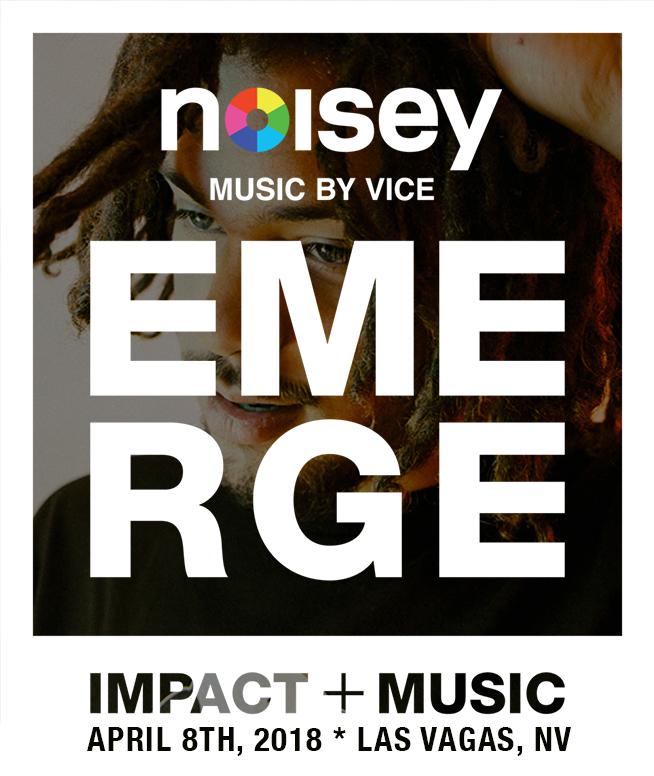 SUN 08 APRIL 2018  @ EMERGE MUSIC & IMPACT CONFERENCE  Las Vegas, Nevada (Various Venues)