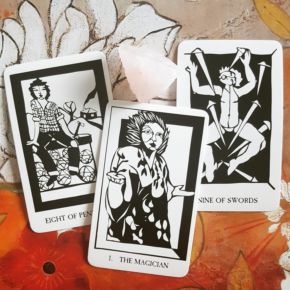 a reading with Thea's Tarot