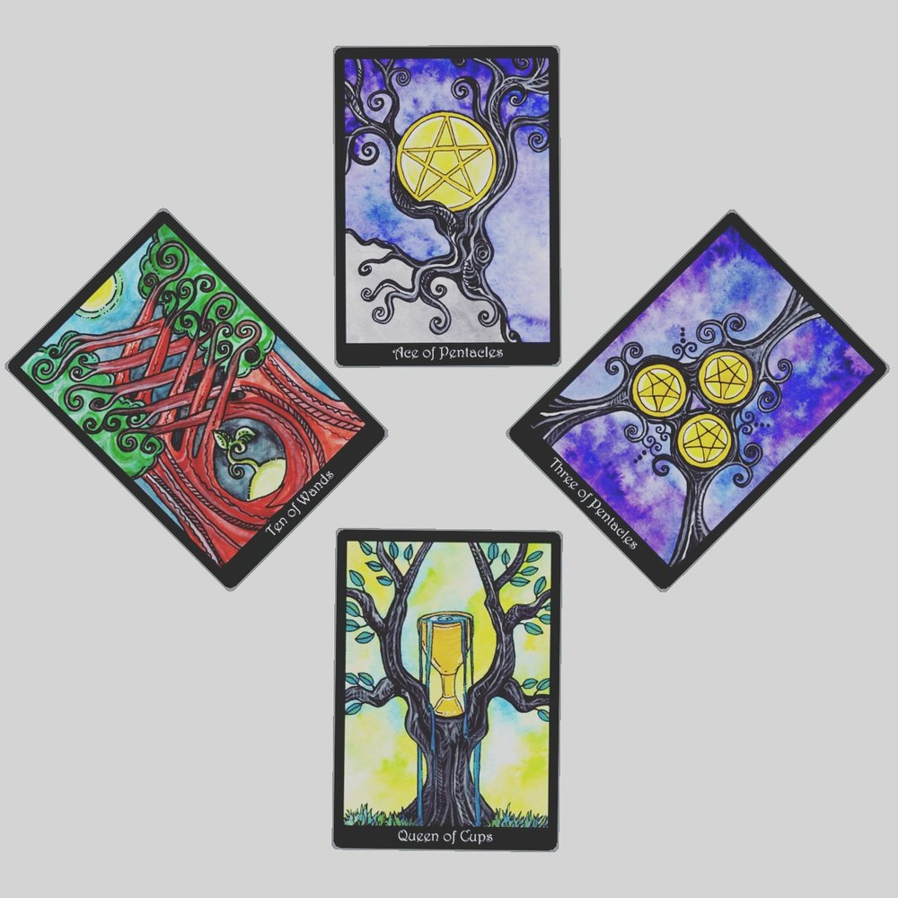 this week's guidance from the Tarot of Trees