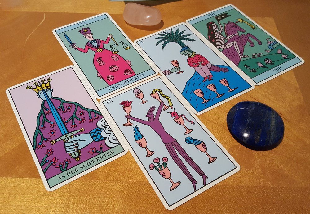 Deck interview with the Kitty Kahane Tarot
