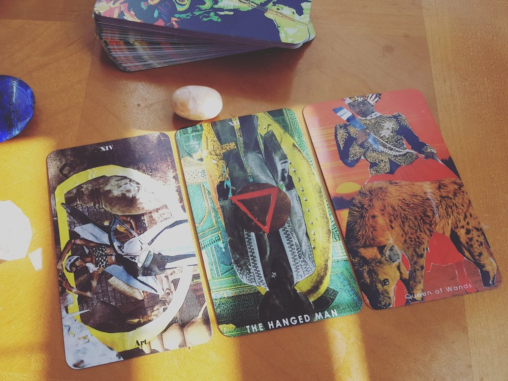 Path, Practice, and Posture reading with the Shrine of the Black Medusa Tarot