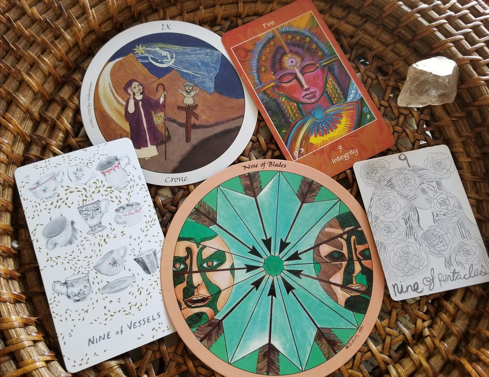 tarot journal:  Diving into the Numbered Tarot - For a deeper look at these patterns, check out the numbered quick sheet I developed for myself over time to help me draw connections and broaden my perspective during a reading.