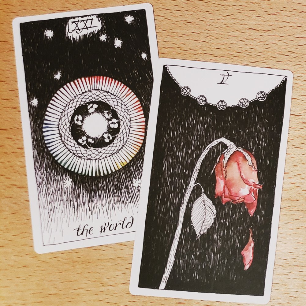 lovelies from the Wild Unknown Tarot