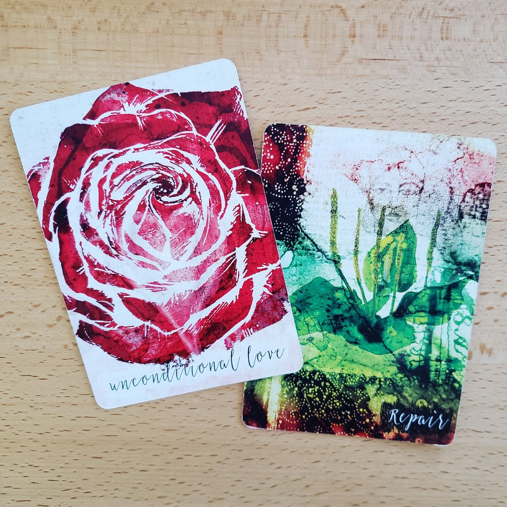 weekend oracle from the Plant Ally & Tree Wisdom decks