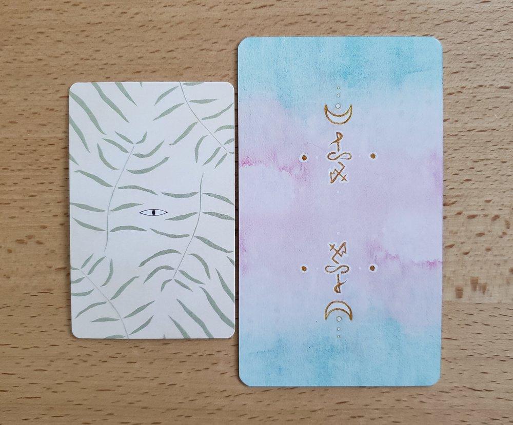 Mesquite Tarot compared to the Numinous Tarot