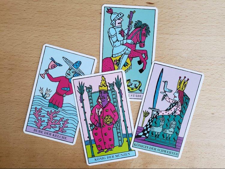 Tarot 101 Meeting The Tarot Courts Asali Earthwork