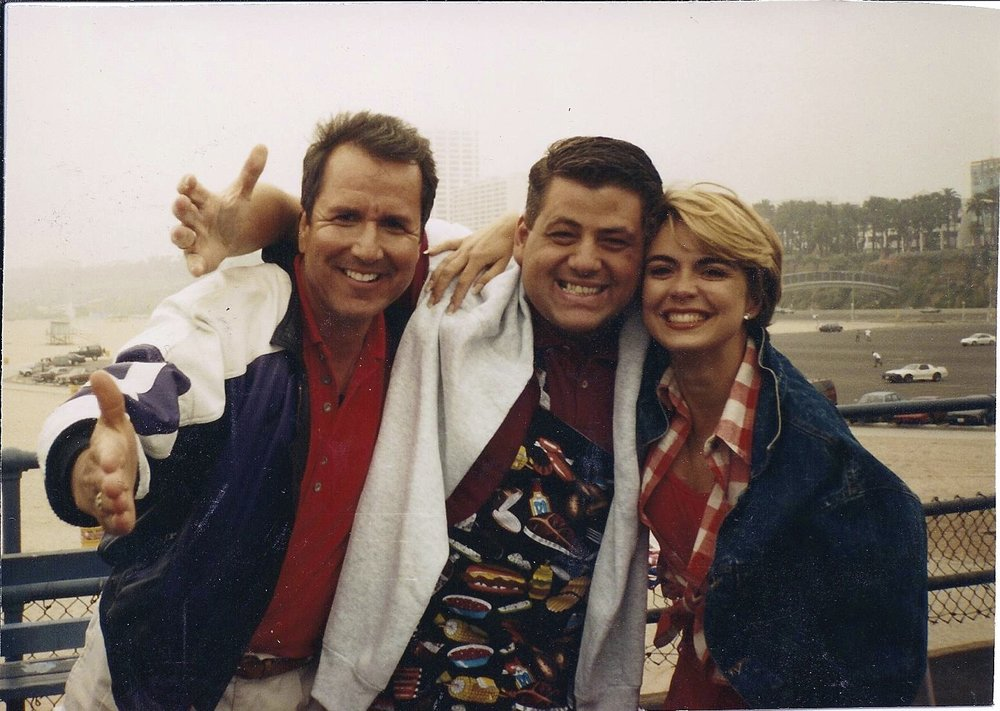 Time Capsule: 1995 4th of July Mike and Maty Show on ABC. Santa Monica Pier Show