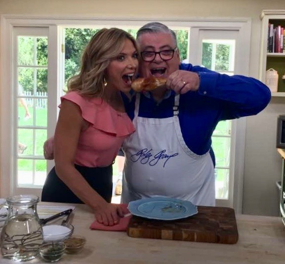 Home and Family!  - Hallmark's Home and Family, I taught everyone how to make great Fair Foods from my latest cookbook. Here is the Link:Home and Family Link