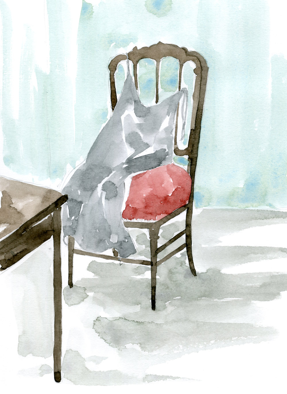 "Client Work for PEACH JOHN Web magazine ""momo Life"" Serialization「Lingerie in Cinema」 Column by Madoka Yamazaki Illustration and typography by Yuriko Oyama   From a book  A Wild Sheep Chase : Haruki Murakami    村上春樹「羊をめぐる冒険」 (1982)より。   Client Work for PEACH JOHN Web magazine ""momo Life"" Serialization「Lingerie in Cinema」 山崎まどかさんコラム イラストレーション:おおやまゆりこ 「The Royal Tenenbaums (2001)」イラストレーション"