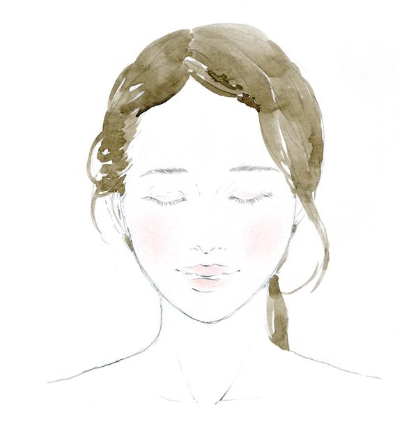 naturaglacé サンプルへhow toイラストを描かせていただきました。 Sample sheet beauty illustration  September 2017