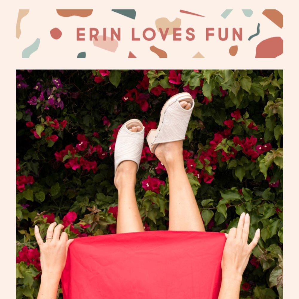 ERIN LOVES FUN -