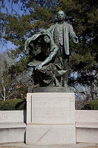 lifting the veil of ignorance statue - Tuskegee         university