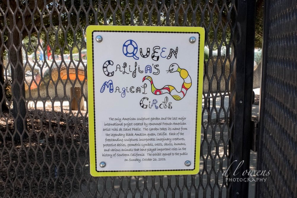 Queen Califia magical circle by French American niki de saint phalle chose to sculpt the legendary black queen Calafía in Escondido (hidden), California