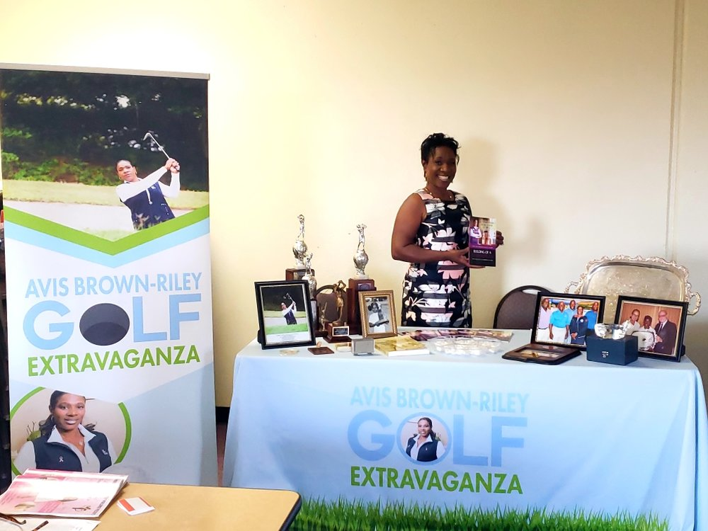Black Queen of Golf - Queen Avis Brown-Riley = Queen Calafia! Read more here:  click