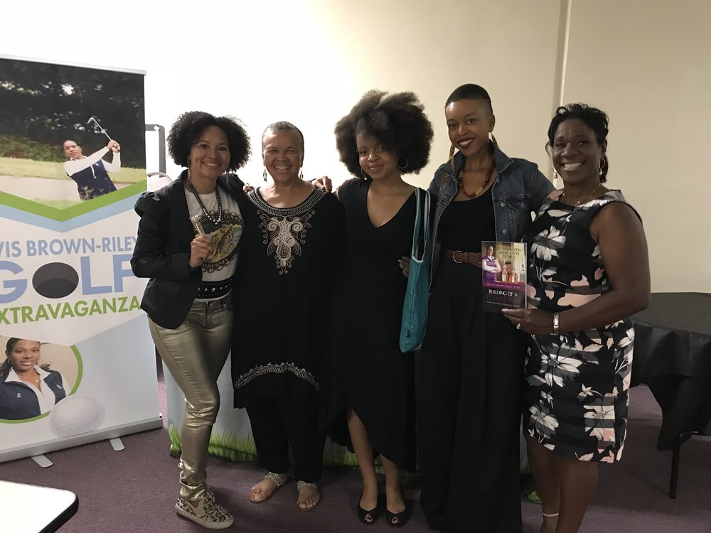 Calafia's California Authors and speakers, rocking knowledge!  California warriors have the power to do it all!  Forward, march Queens YaYa, Starla, Ishe, and Avis!  We know the pen is mightier than the sword! Slay!